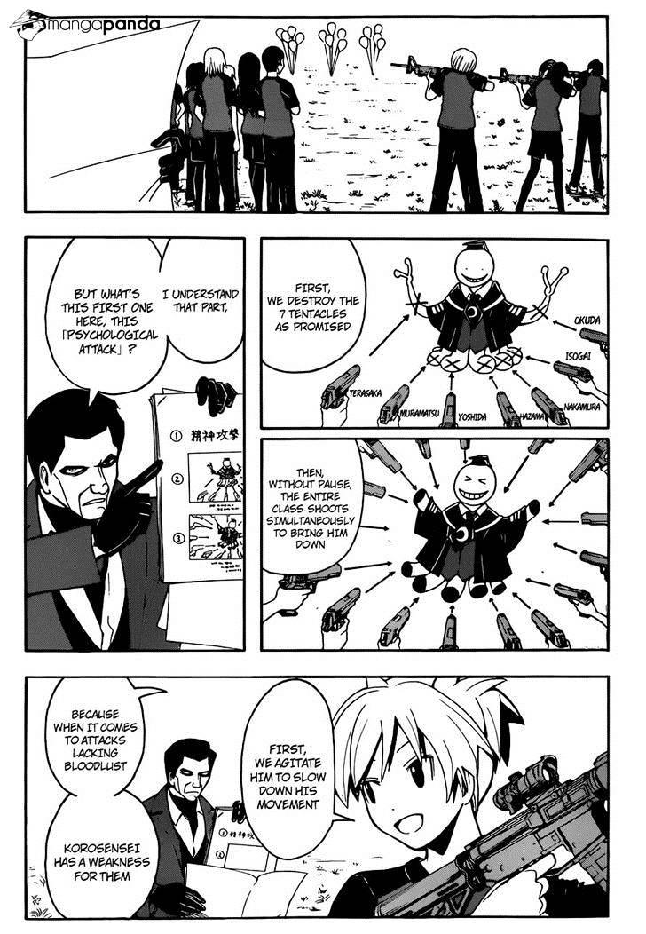 Ansatsu Kyoushitsu Chapter 57  Online Free Manga Read Image 7