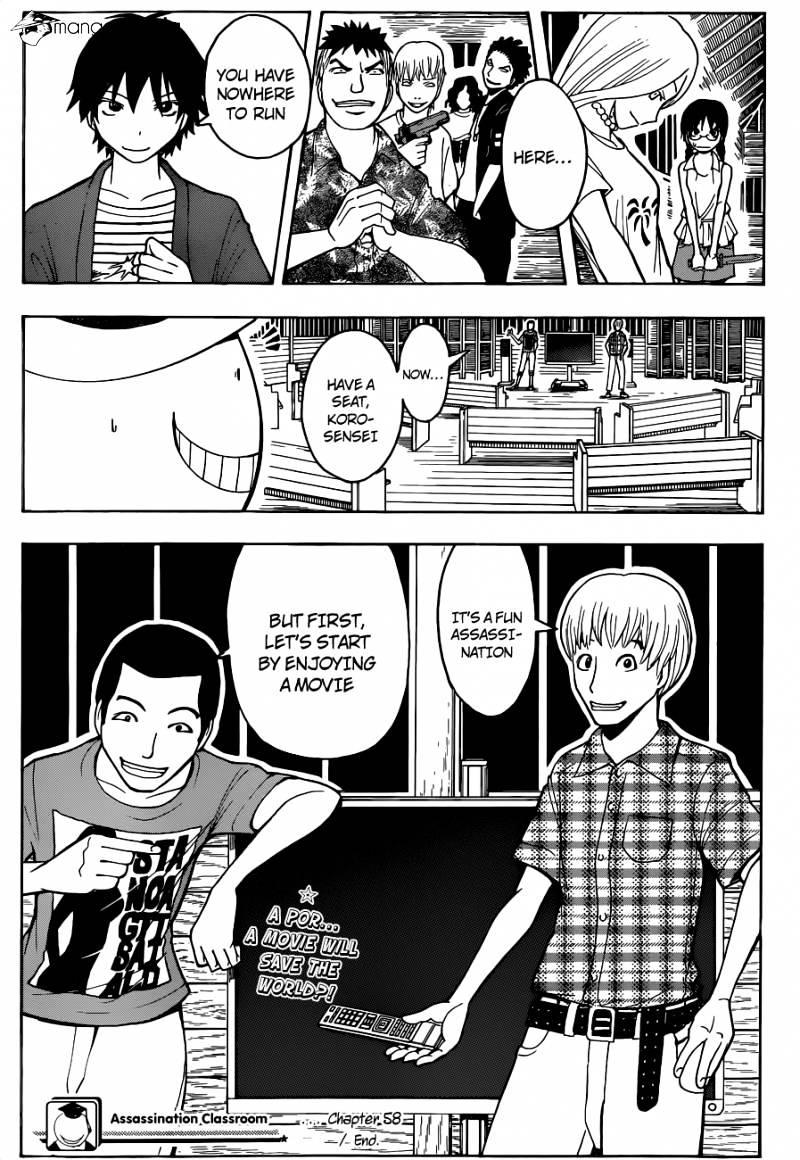 Ansatsu Kyoushitsu Chapter 58  Online Free Manga Read Image 20