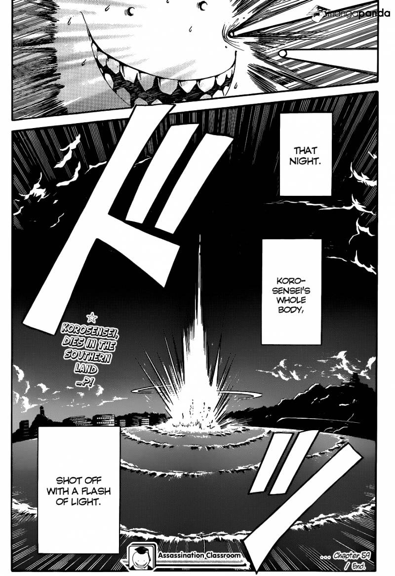 Ansatsu Kyoushitsu Chapter 59  Online Free Manga Read Image 21