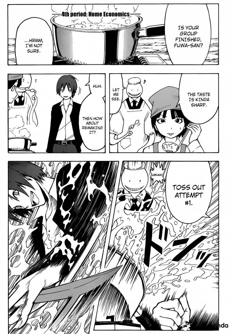 Ansatsu Kyoushitsu Chapter 6  Online Free Manga Read Image 4