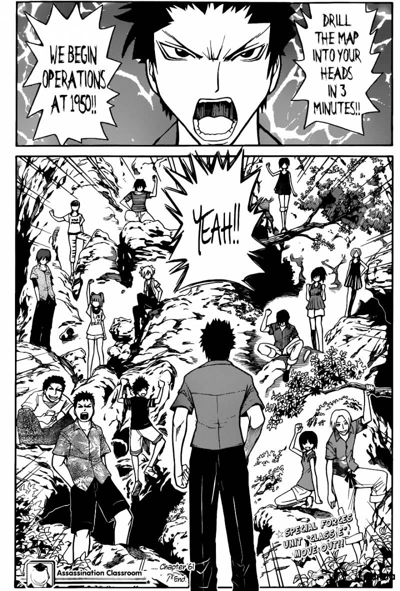 Ansatsu Kyoushitsu Chapter 61  Online Free Manga Read Image 20