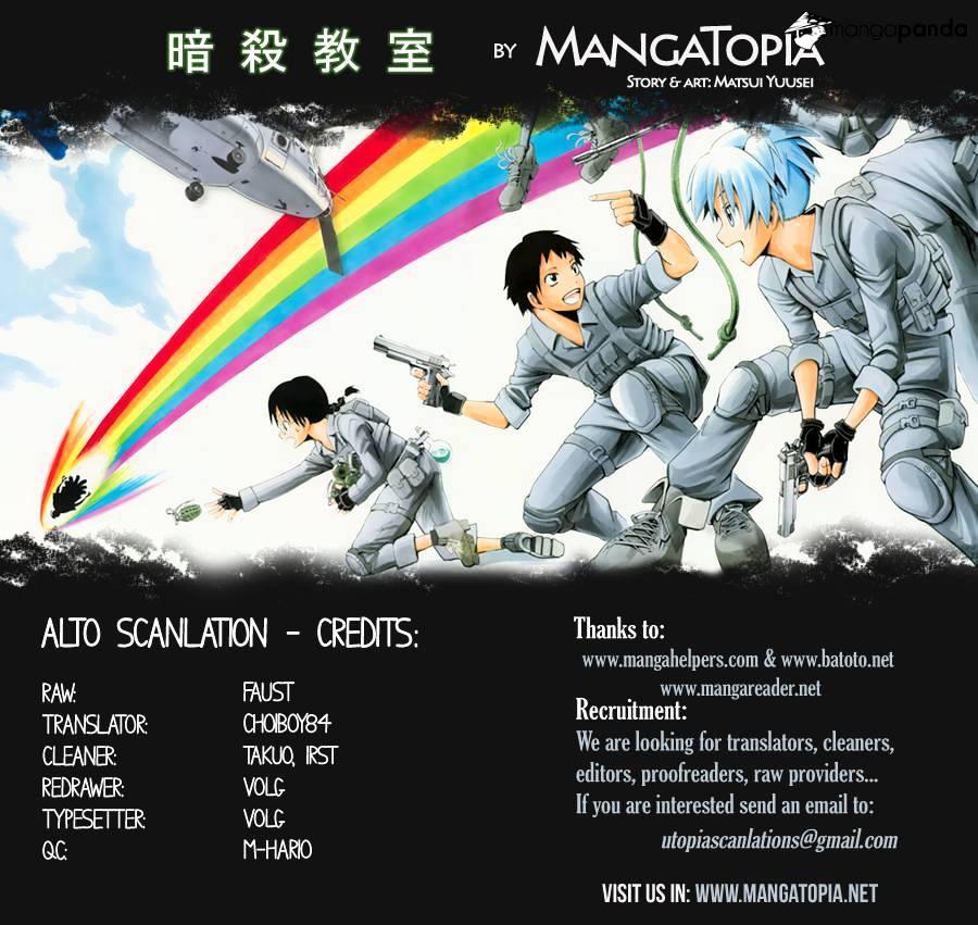 Ansatsu Kyoushitsu Chapter 62  Online Free Manga Read Image 1