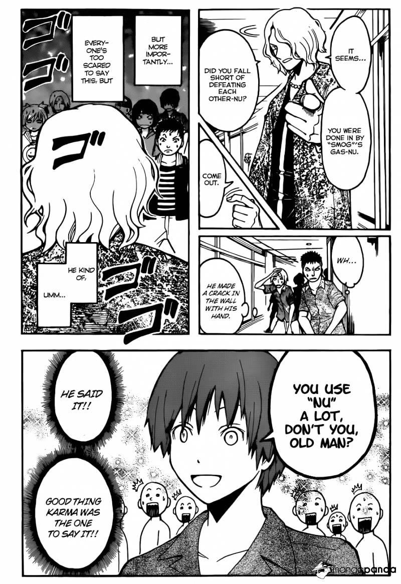 Ansatsu Kyoushitsu Chapter 64  Online Free Manga Read Image 14