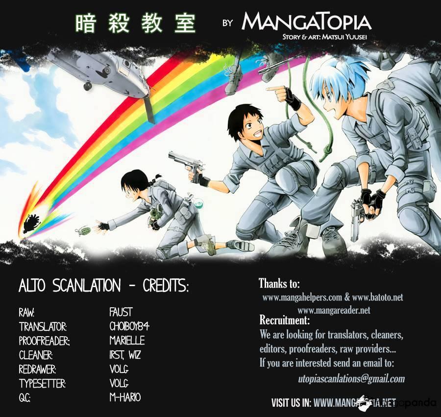 Ansatsu Kyoushitsu Chapter 66  Online Free Manga Read Image 1