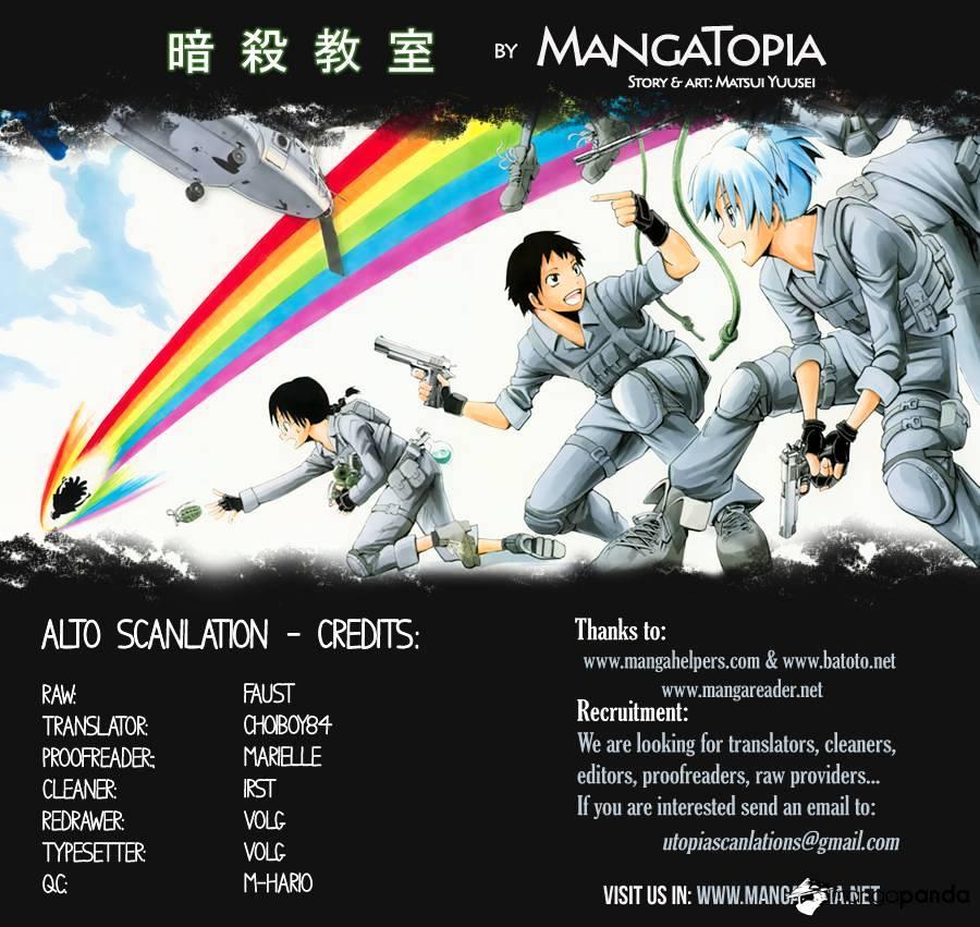 Ansatsu Kyoushitsu Chapter 67  Online Free Manga Read Image 1