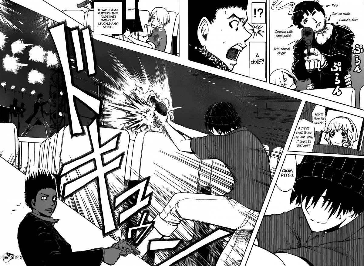 Ansatsu Kyoushitsu Chapter 68  Online Free Manga Read Image 15