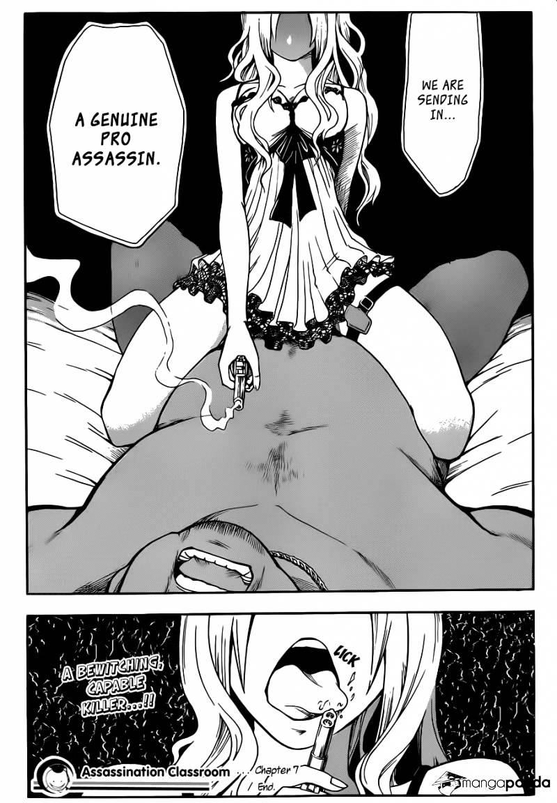 Ansatsu Kyoushitsu Chapter 7  Online Free Manga Read Image 20