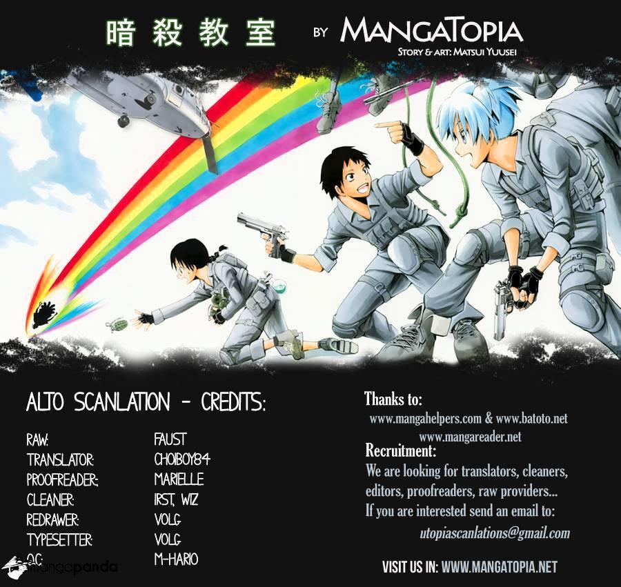 Ansatsu Kyoushitsu Chapter 70  Online Free Manga Read Image 1