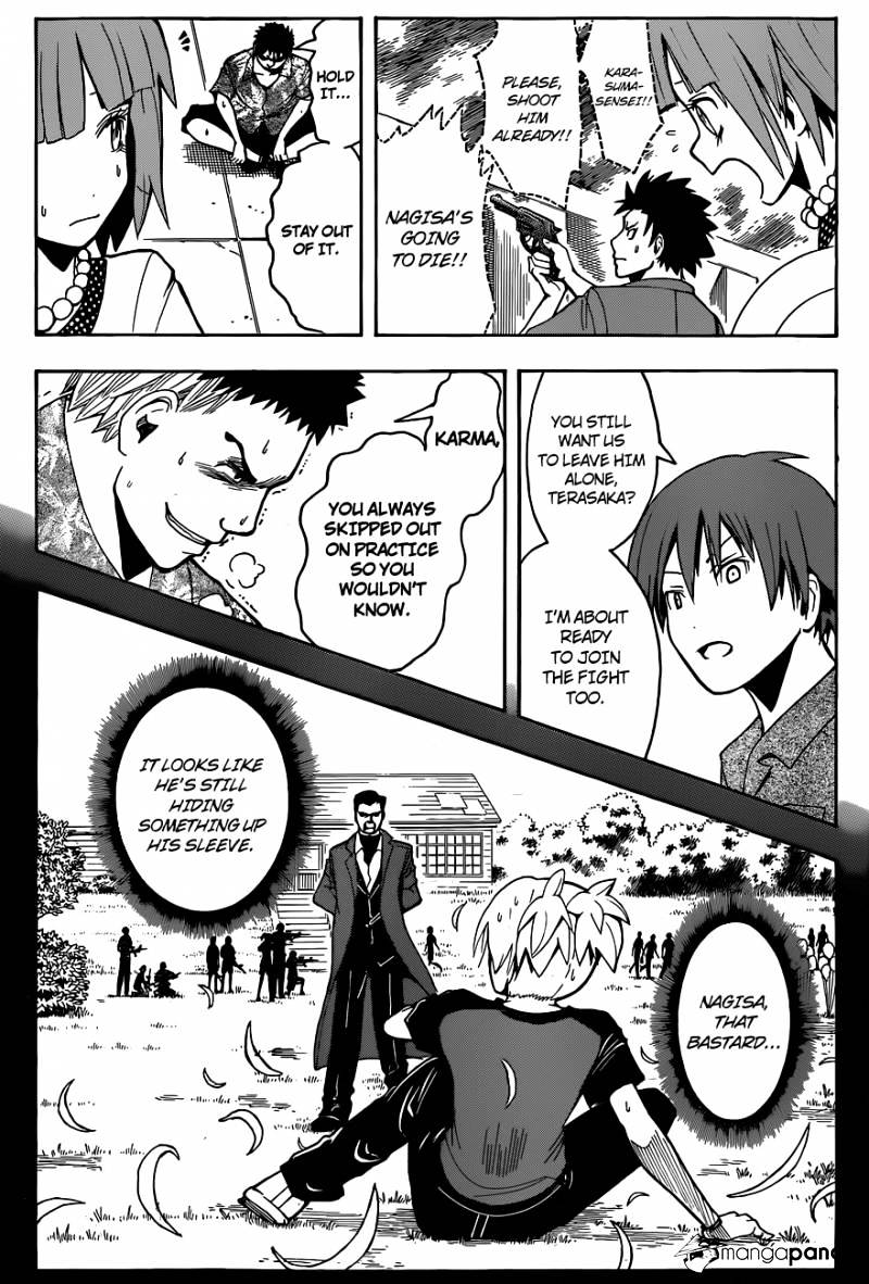 Ansatsu Kyoushitsu Chapter 71  Online Free Manga Read Image 17