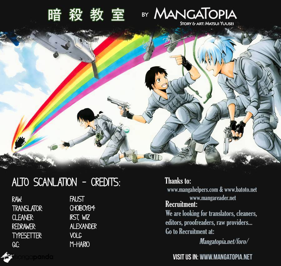 Ansatsu Kyoushitsu Chapter 75  Online Free Manga Read Image 1