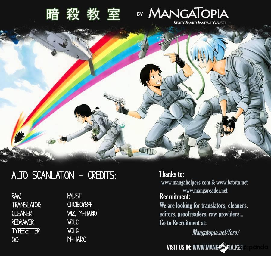Ansatsu Kyoushitsu Chapter 79  Online Free Manga Read Image 1