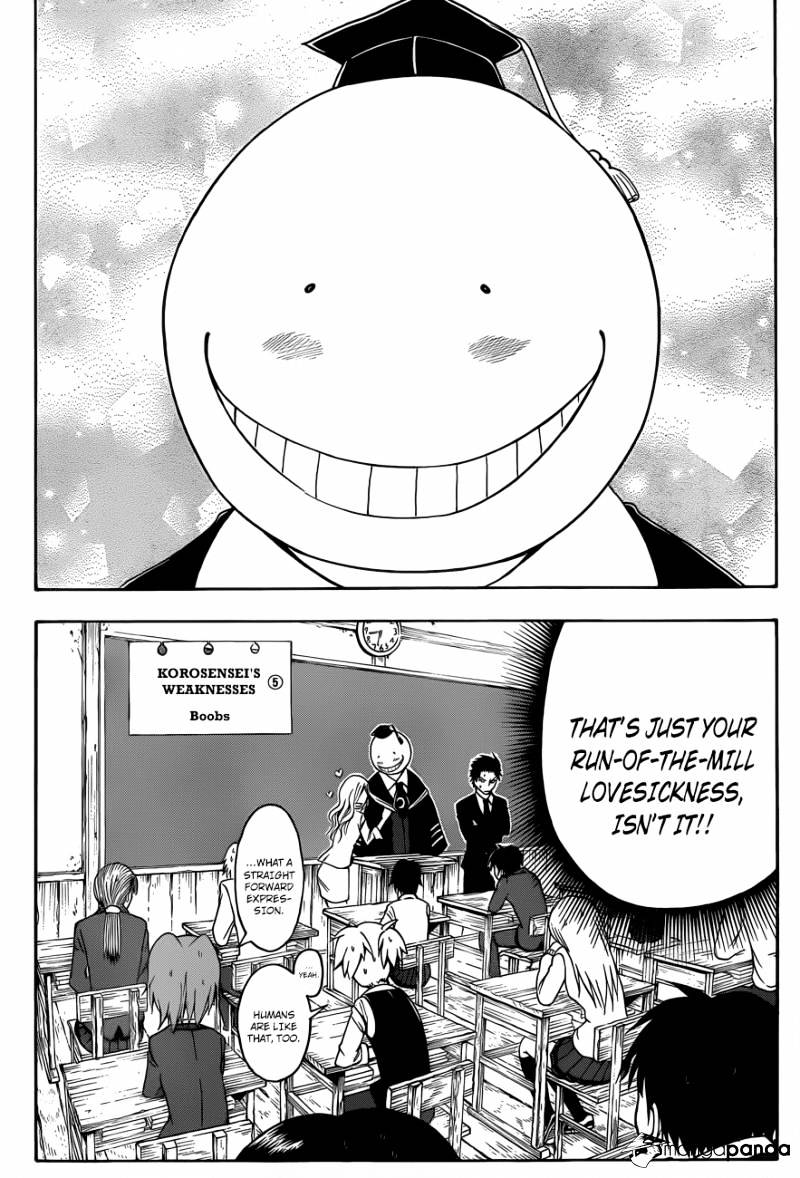 Ansatsu Kyoushitsu Chapter 8  Online Free Manga Read Image 9