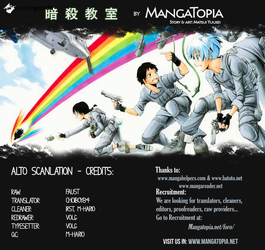 Ansatsu Kyoushitsu Chapter 80  Online Free Manga Read Image 1