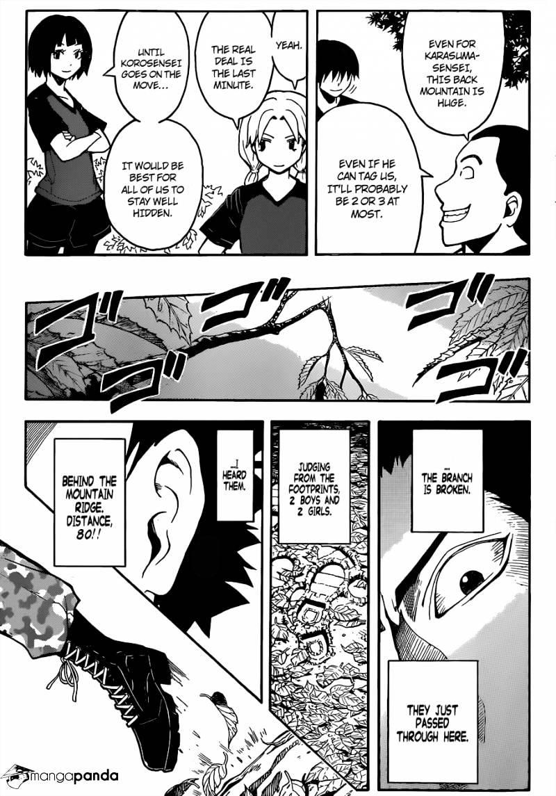 Ansatsu Kyoushitsu Chapter 81  Online Free Manga Read Image 14