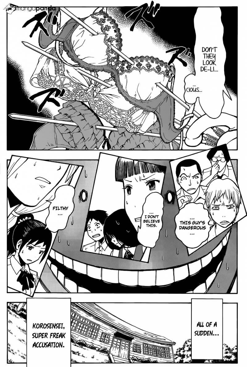 Ansatsu Kyoushitsu Chapter 83  Online Free Manga Read Image 9