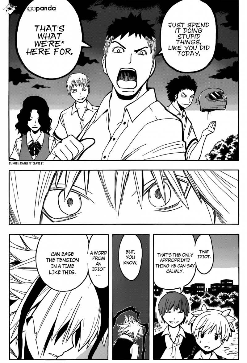Ansatsu Kyoushitsu Chapter 87  Online Free Manga Read Image 17