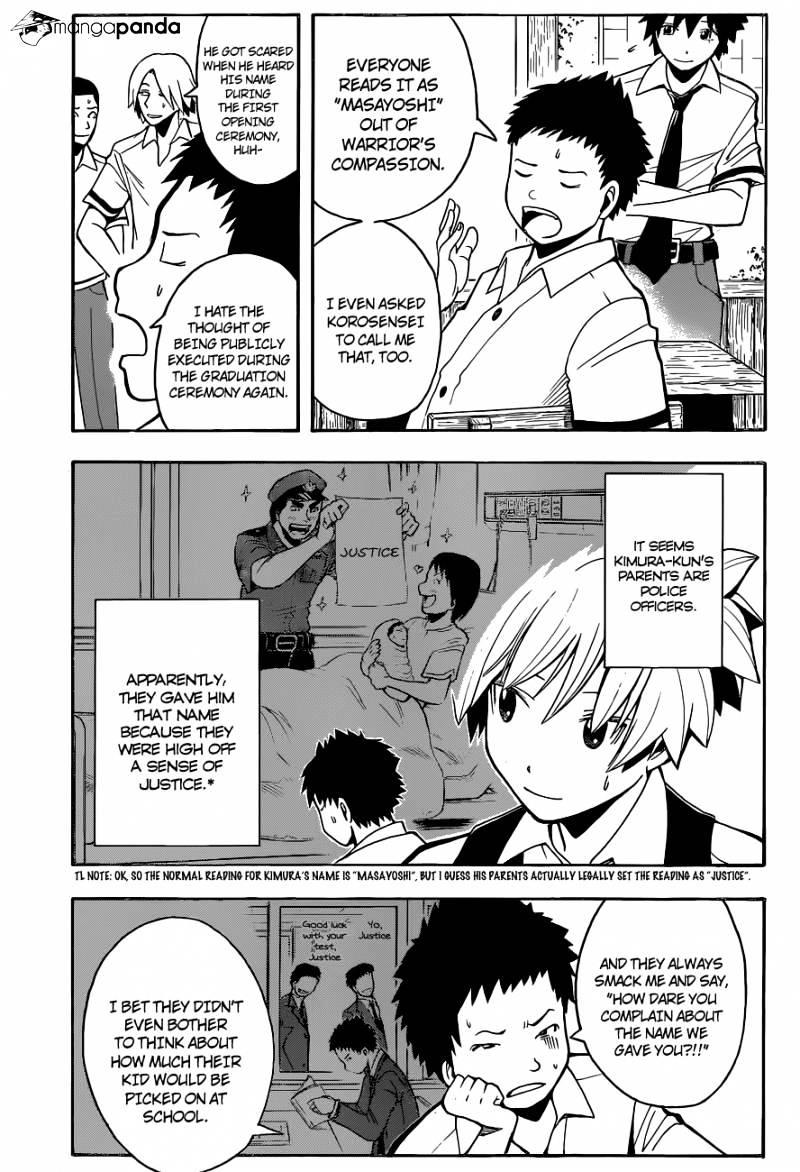 Ansatsu Kyoushitsu Chapter 89  Online Free Manga Read Image 4