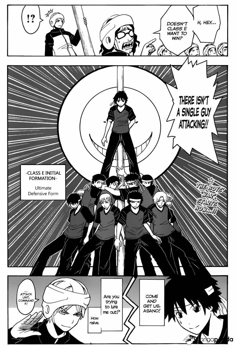 Ansatsu Kyoushitsu Chapter 91  Online Free Manga Read Image 20