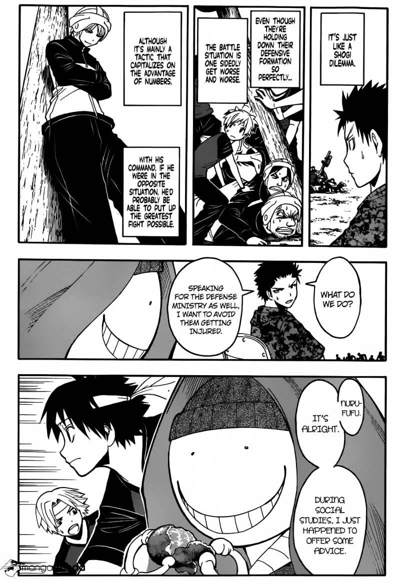Ansatsu Kyoushitsu Chapter 92  Online Free Manga Read Image 15