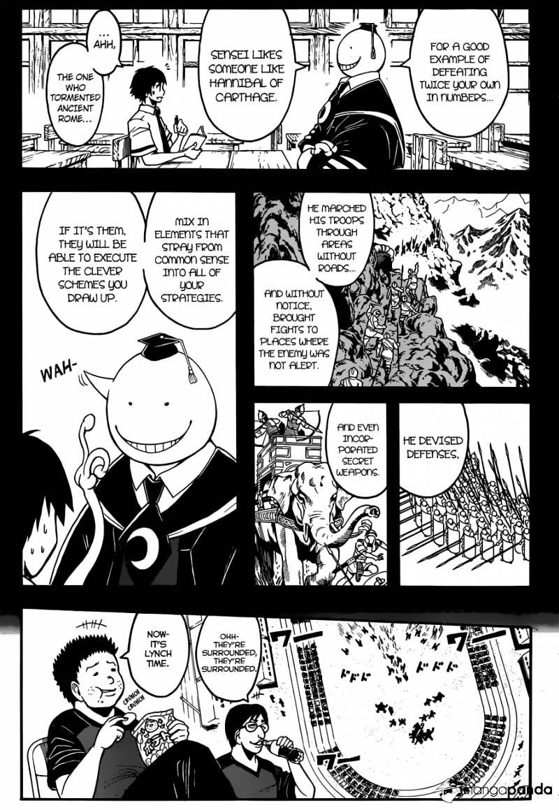 Ansatsu Kyoushitsu Chapter 92  Online Free Manga Read Image 16