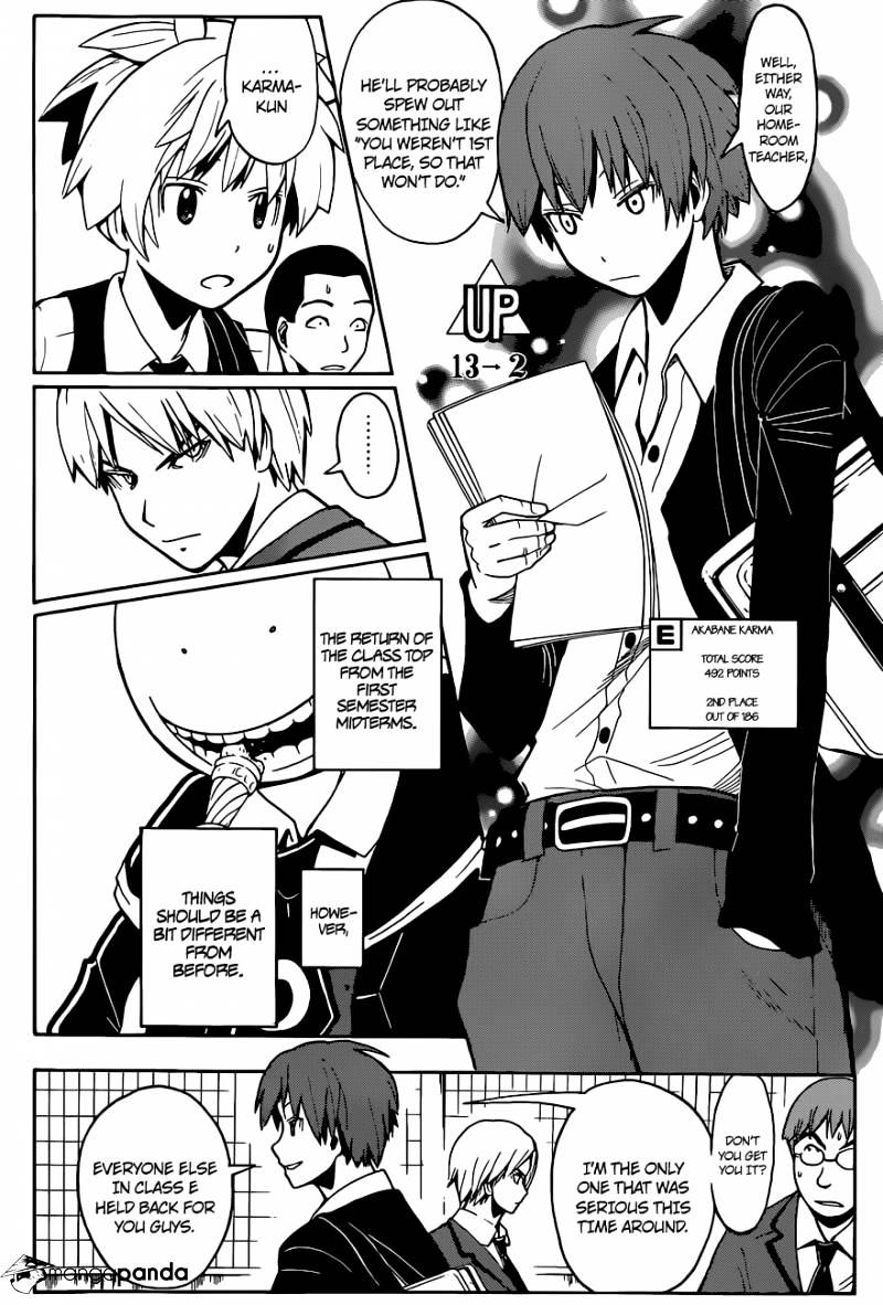 Ansatsu Kyoushitsu Chapter 97  Online Free Manga Read Image 16