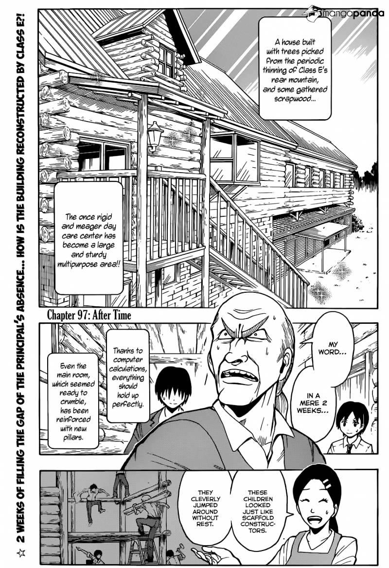 Ansatsu Kyoushitsu Chapter 97  Online Free Manga Read Image 5