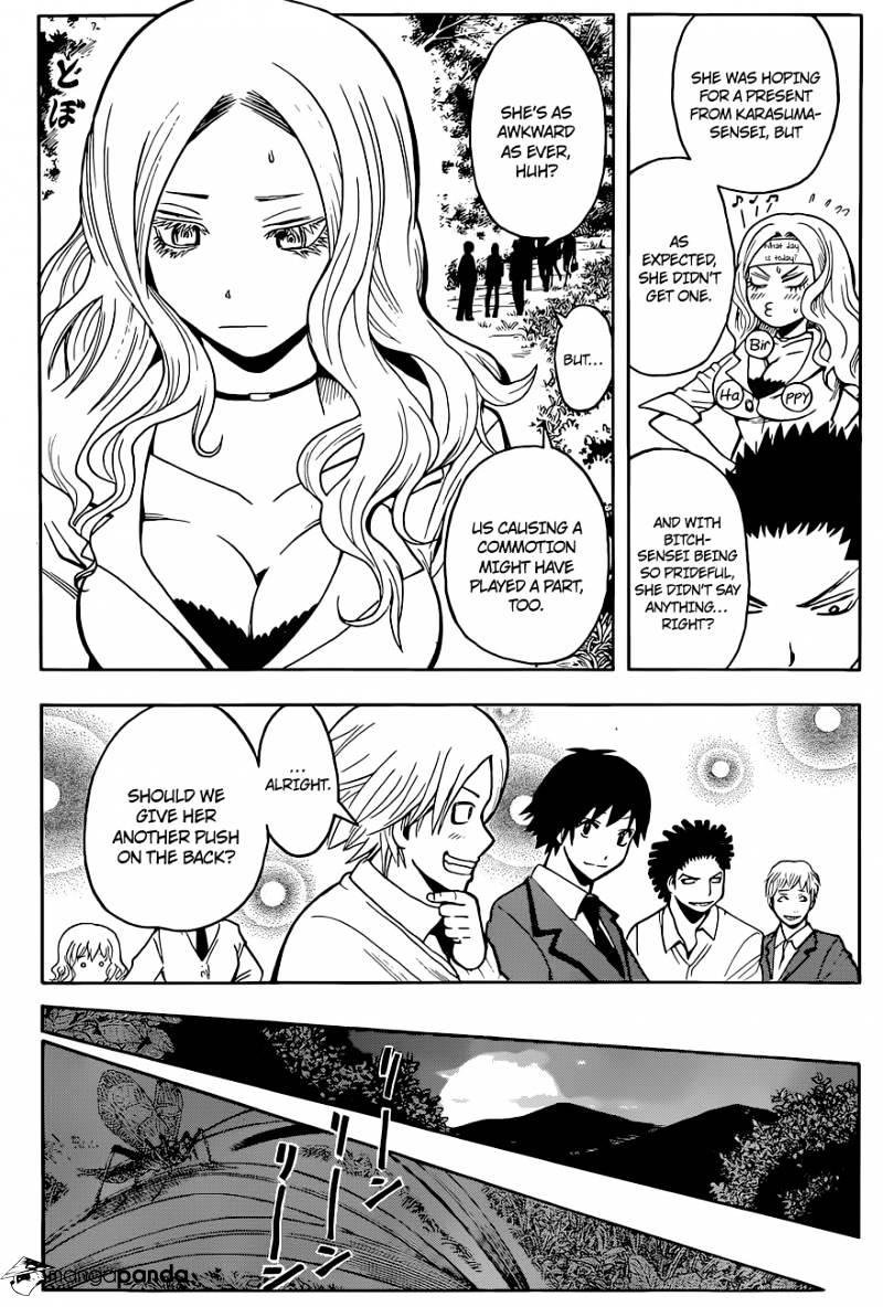 Ansatsu Kyoushitsu Chapter 98  Online Free Manga Read Image 14