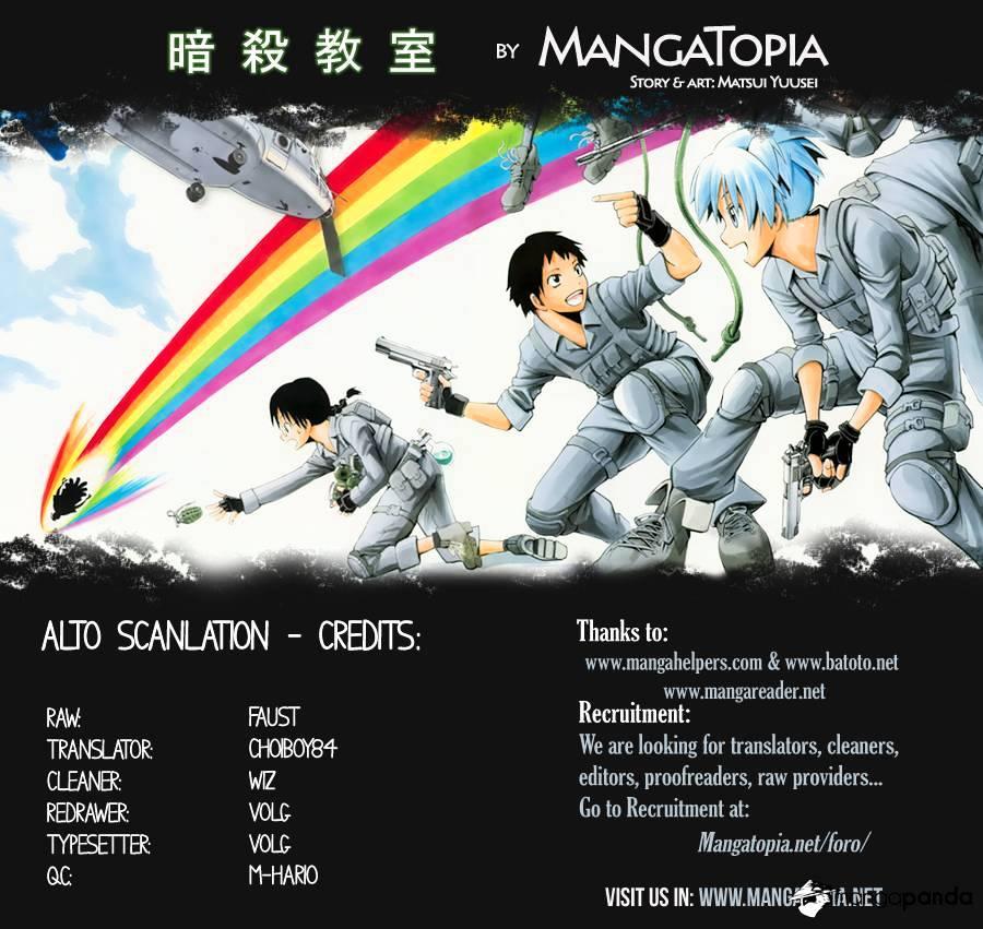 Ansatsu Kyoushitsu Chapter 99  Online Free Manga Read Image 1