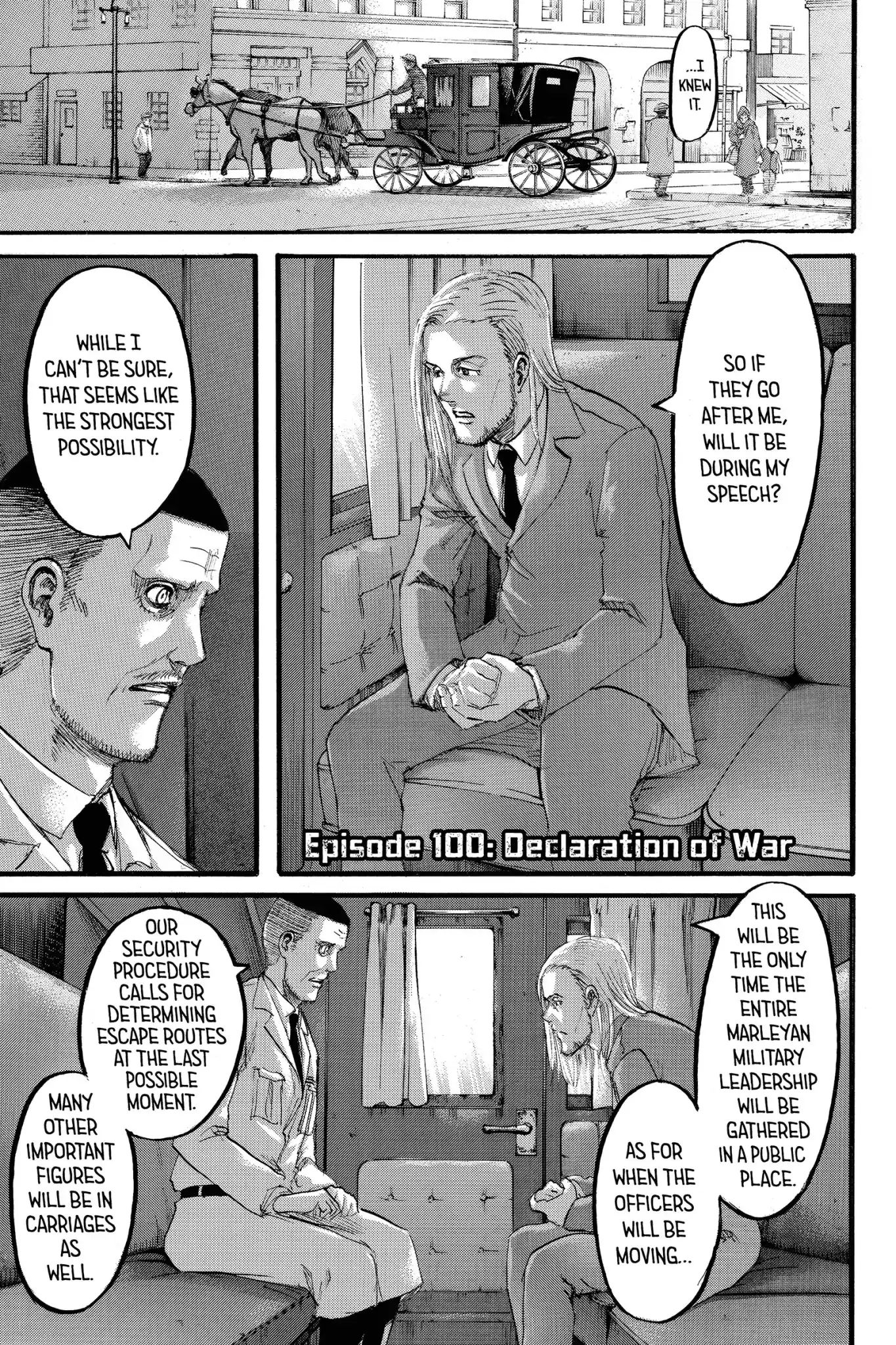 Attack on Titan Chapter 100  Online Free Manga Read Image 1