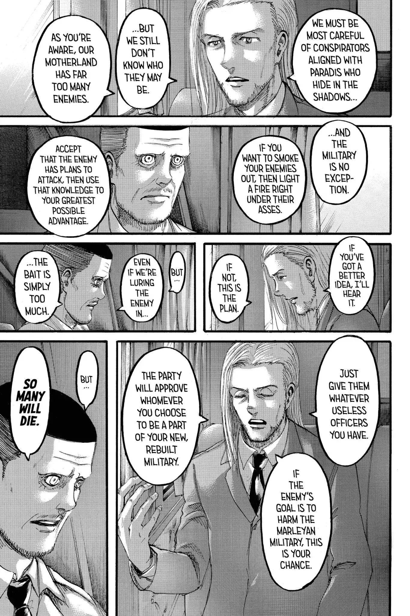 Attack on Titan Chapter 100  Online Free Manga Read Image 3