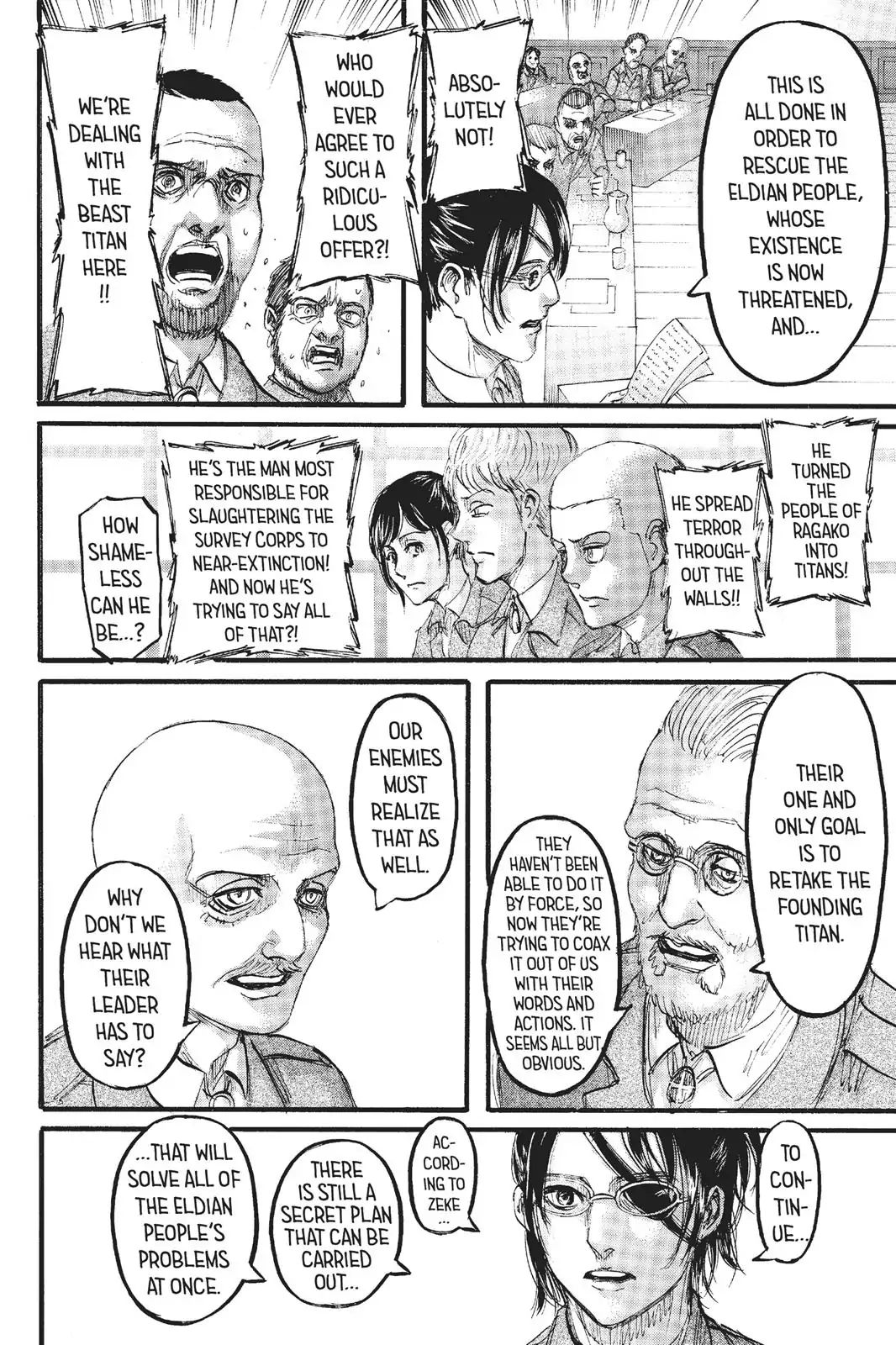 Attack on Titan Chapter 106  Online Free Manga Read Image 21