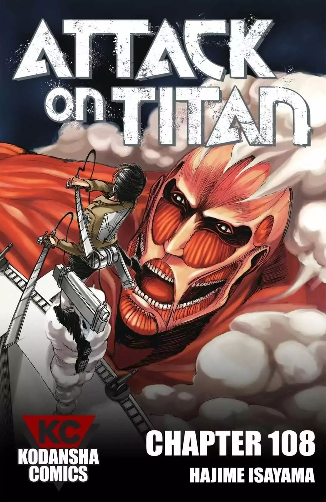 Attack on Titan Chapter 108  Online Free Manga Read Image 1