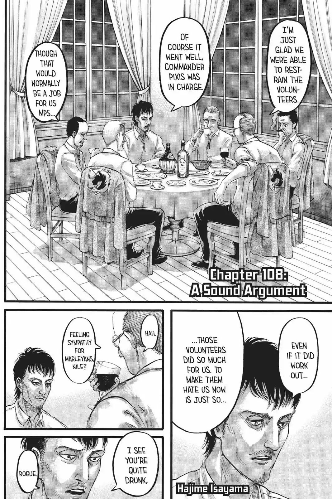 Attack on Titan Chapter 108  Online Free Manga Read Image 2
