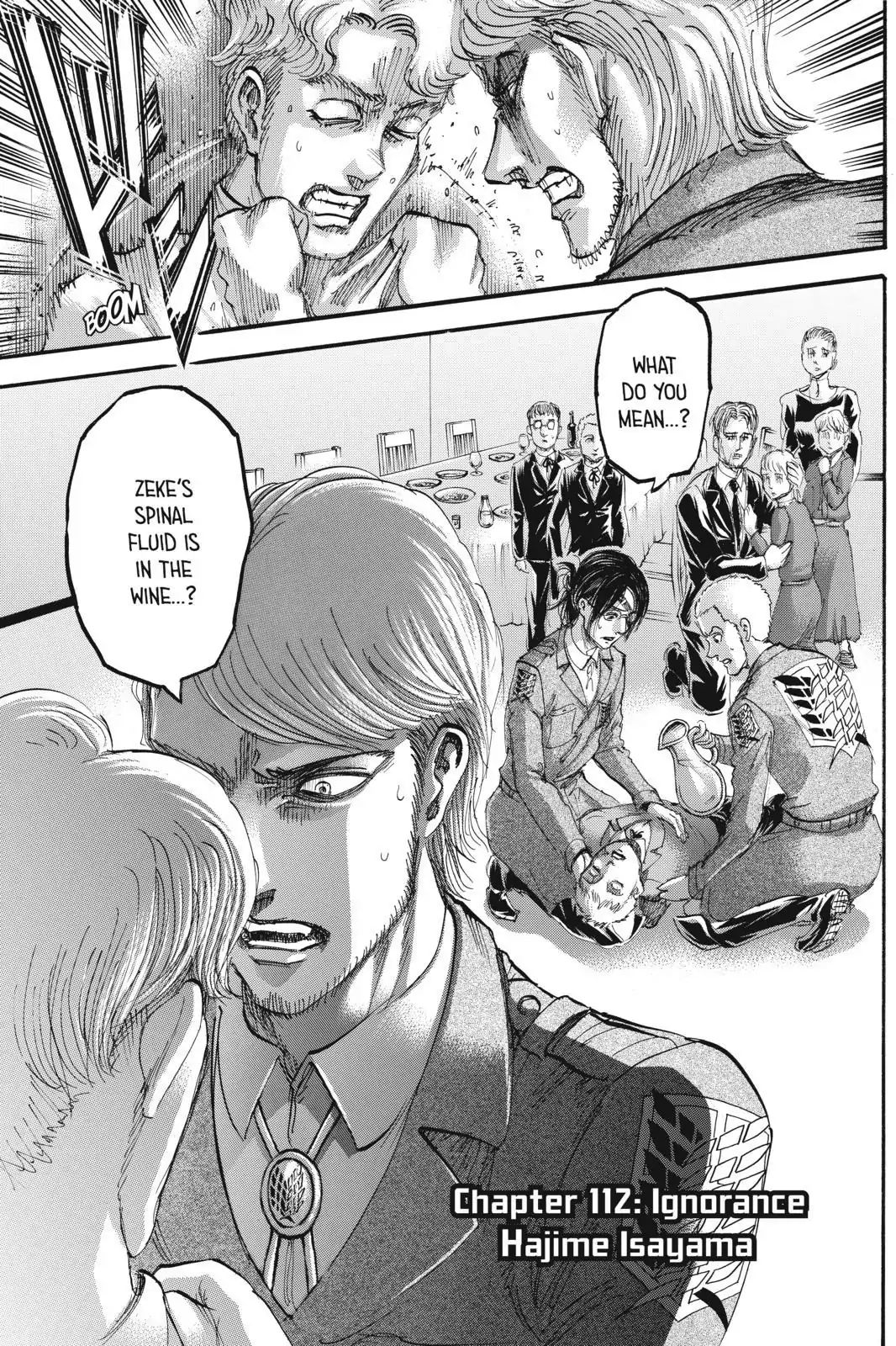 Attack on Titan Chapter 112  Online Free Manga Read Image 1