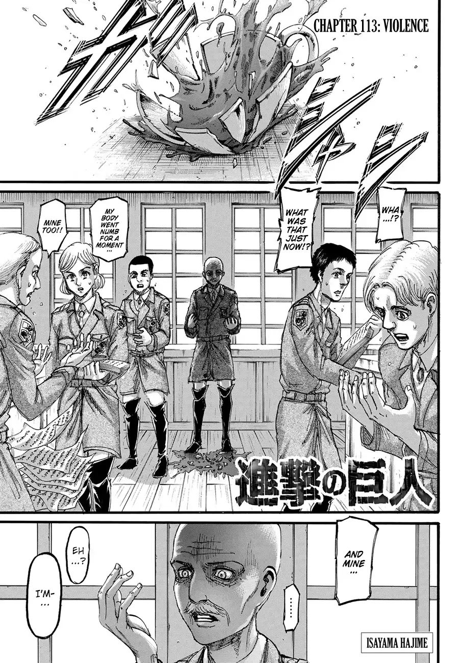 Attack on Titan Chapter 113  Online Free Manga Read Image 1