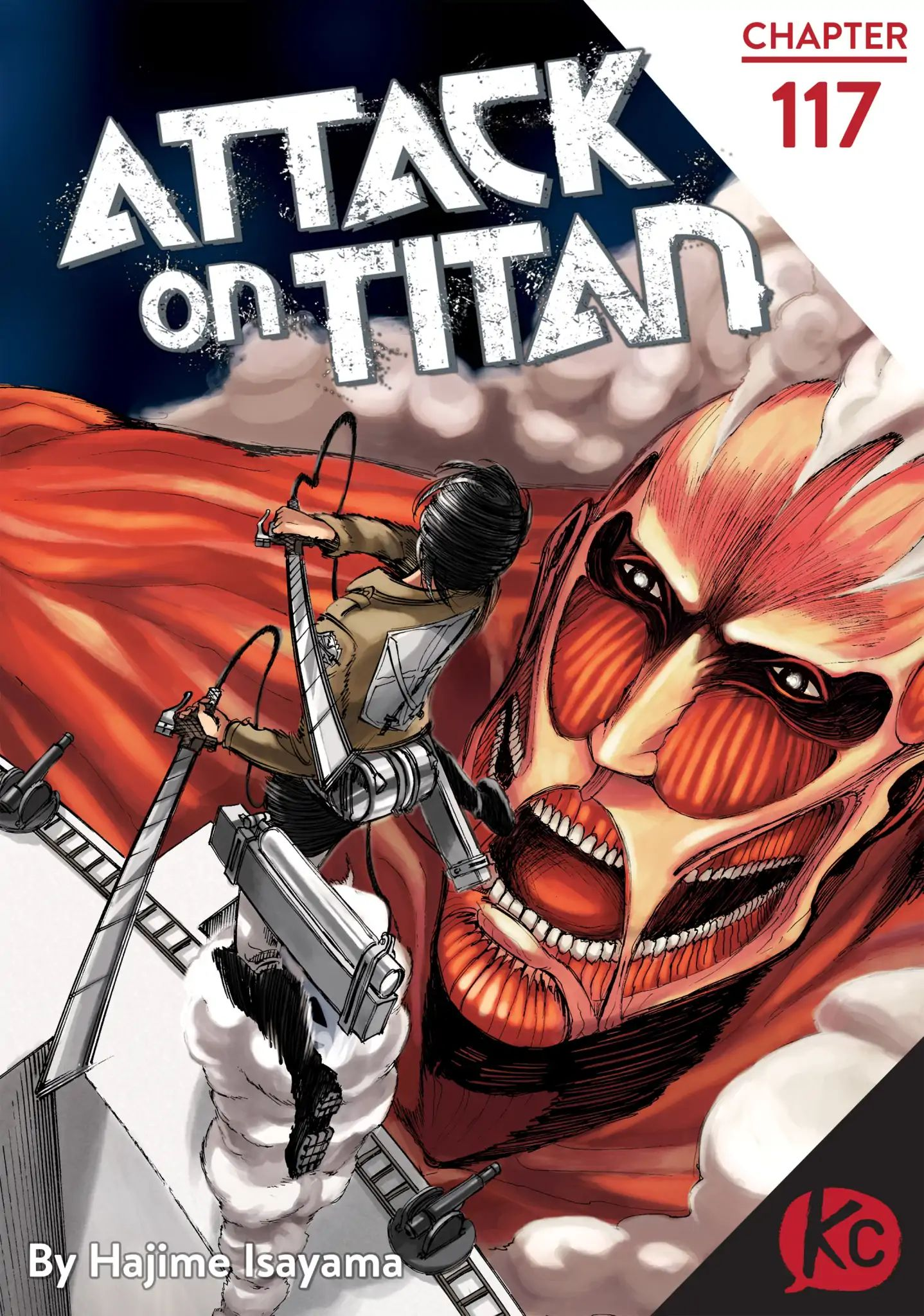 Attack on Titan Chapter 117  Online Free Manga Read Image 1