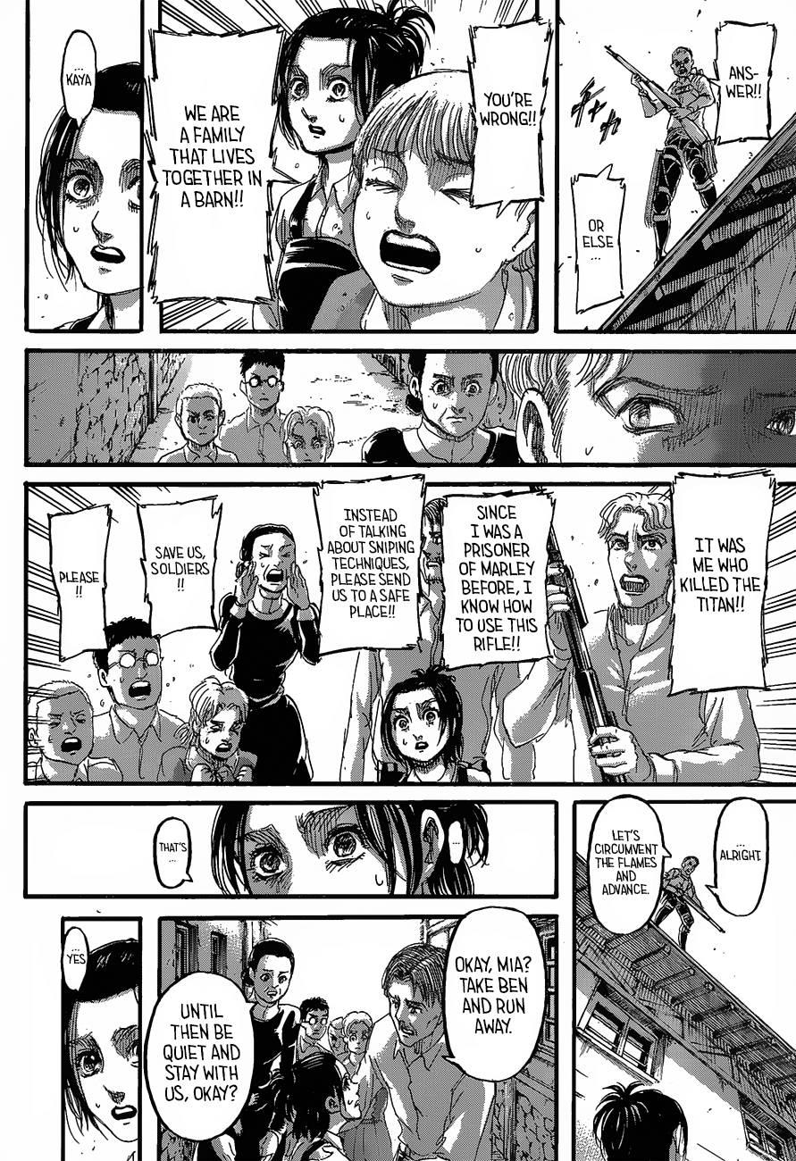 Attack on Titan Chapter 124 Full Manga Read Scan Image 27