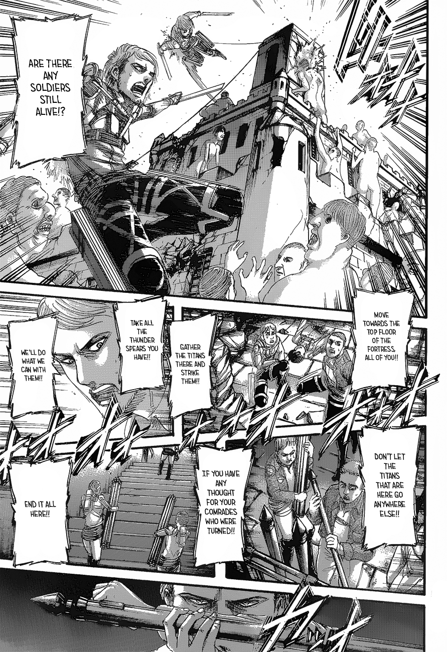 Attack on Titan Chapter 124 Full Manga Read Scan Image 34