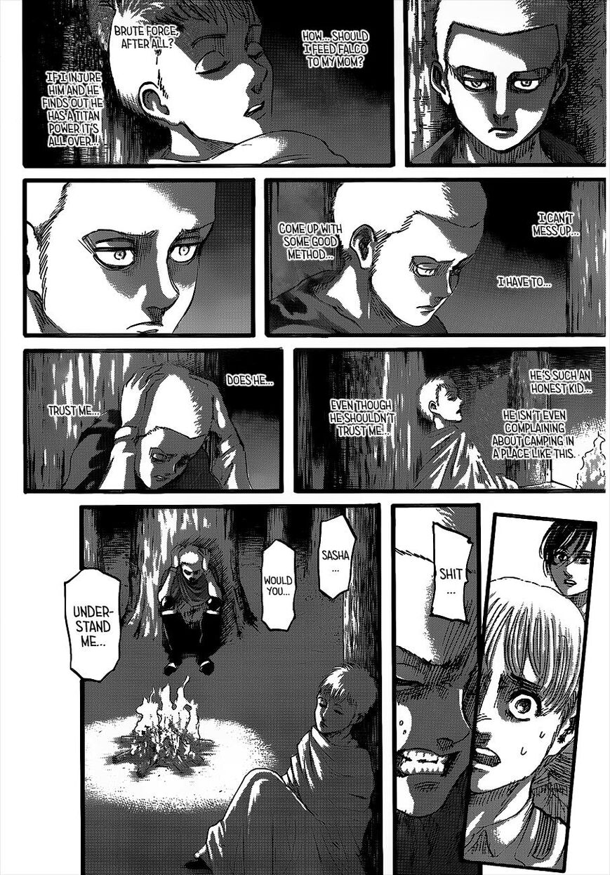 Attack on Titan Chapter 126  Online Free Manga Read Image 13