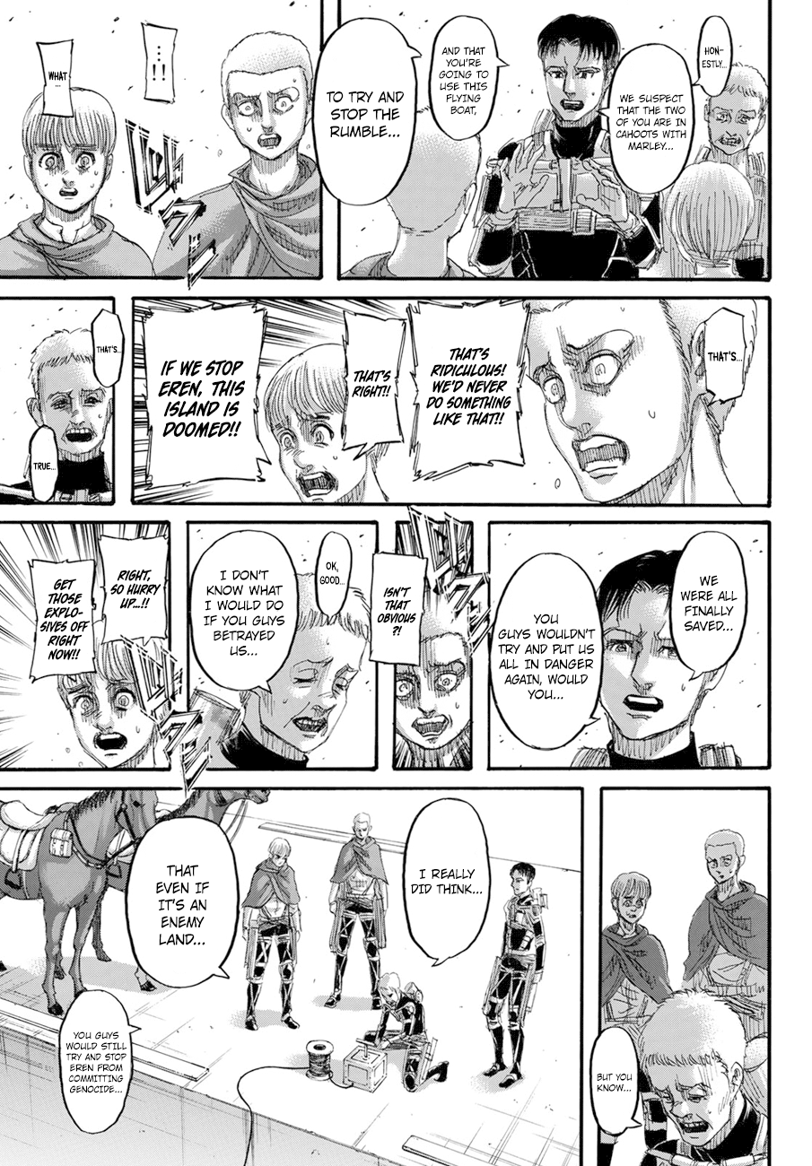 Attack on Titan Chapter 128  Online Free Manga Read Image 25