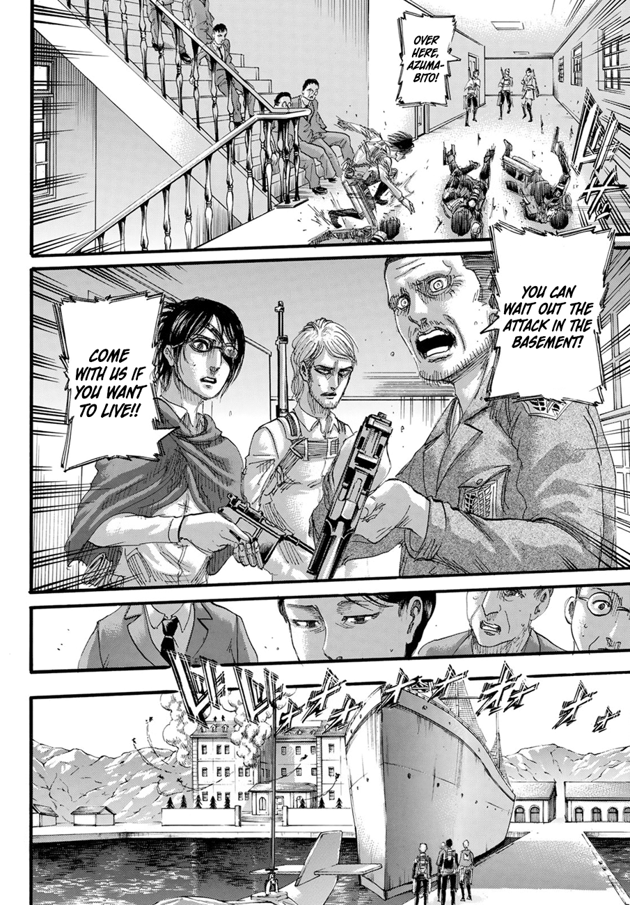 Attack on Titan Chapter 128  Online Free Manga Read Image 36