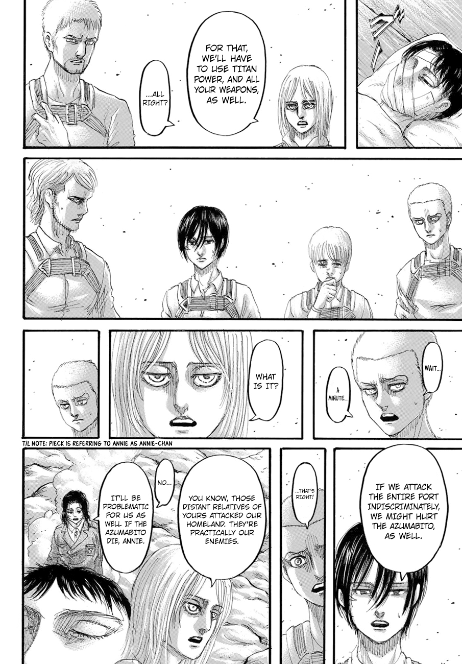 Attack on Titan Chapter 128  Online Free Manga Read Image 6
