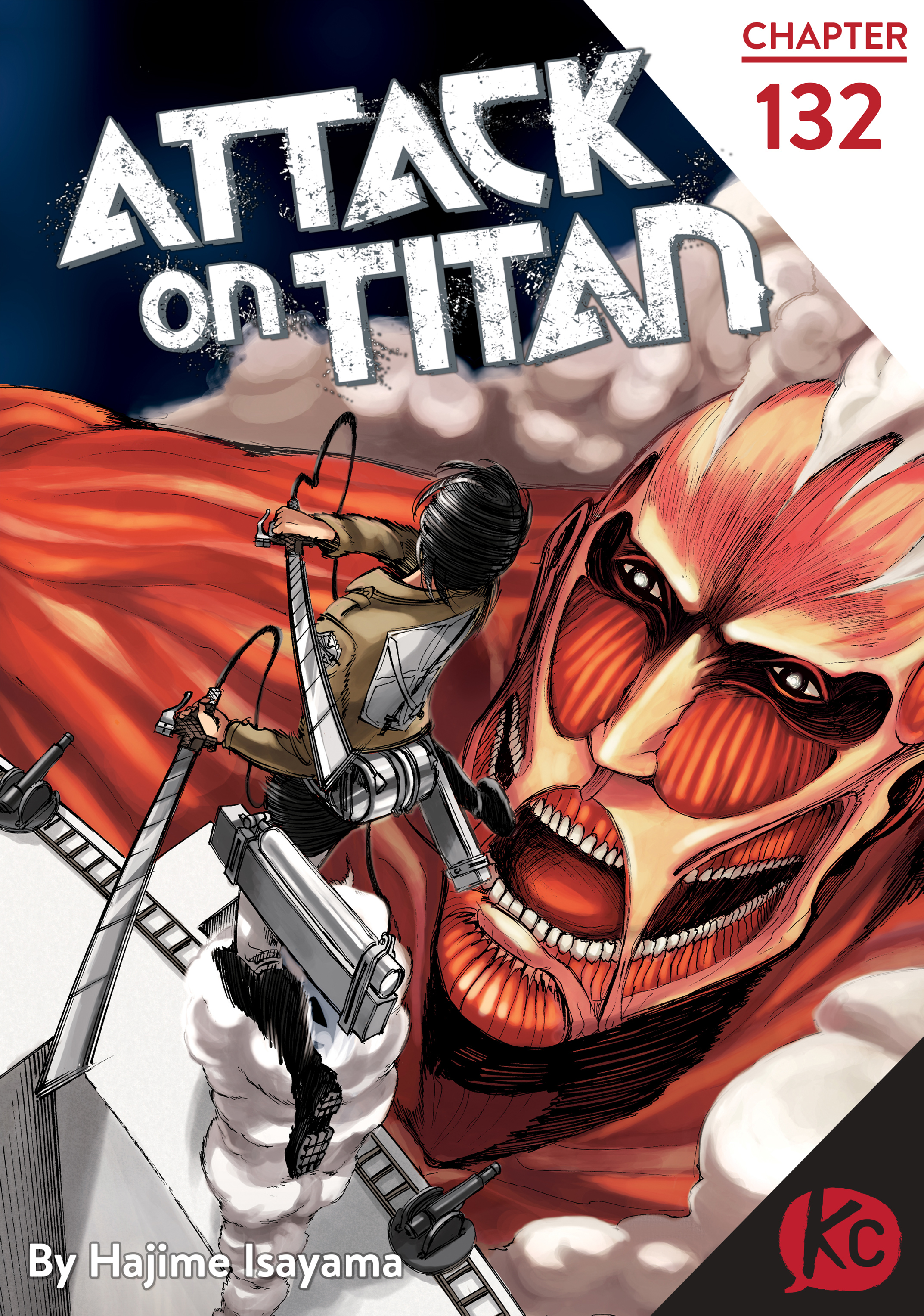 Attack on Titan Chapter 132  Online Free Manga Read Image 1