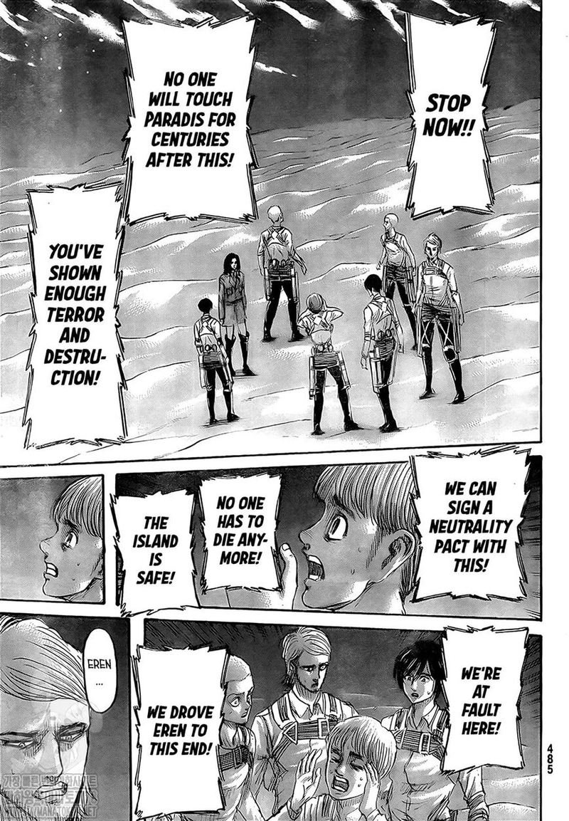 Attack on Titan Chapter 133  Online Free Manga Read Image 14