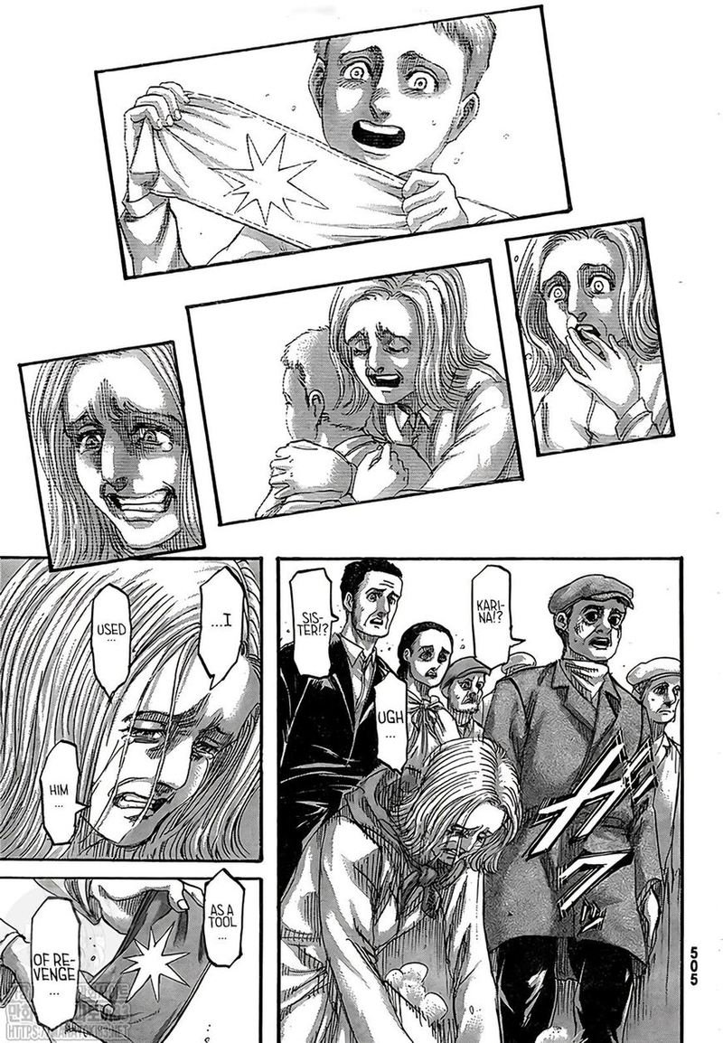 Attack on Titan Chapter 134  Online Free Manga Read Image 14