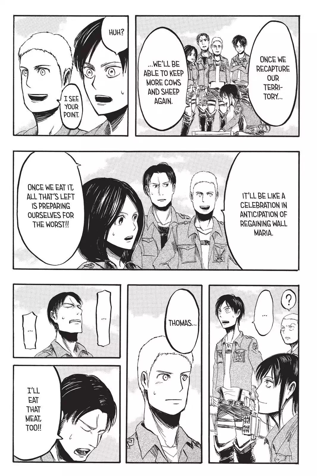 Attack on Titan Chapter 3  Online Free Manga Read Image 29