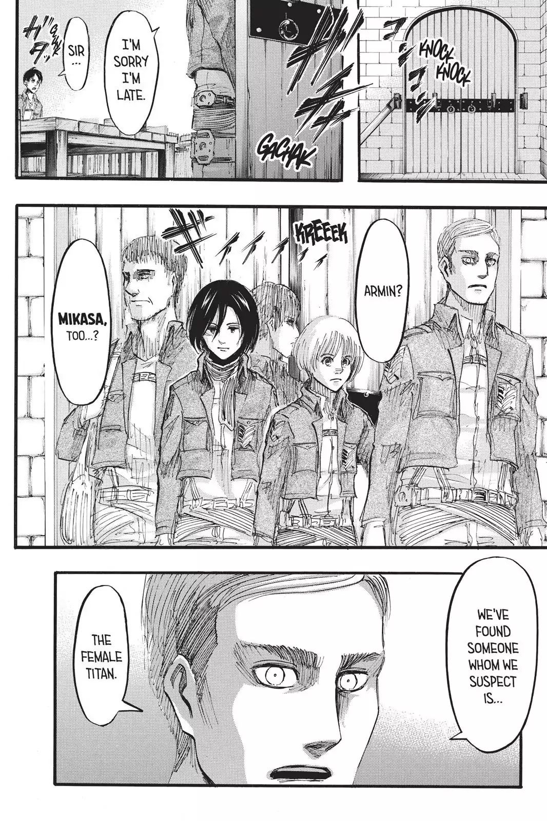 Attack on Titan Chapter 32  Online Free Manga Read Image 21