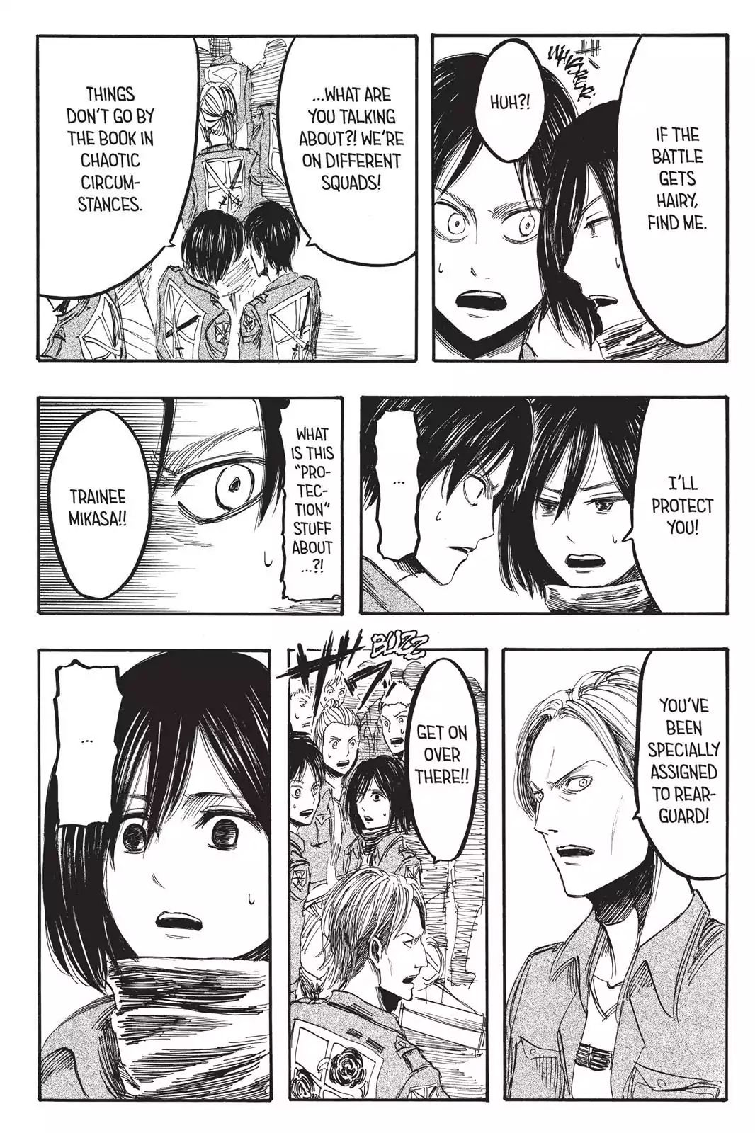 Attack on Titan Chapter 4  Online Free Manga Read Image 19