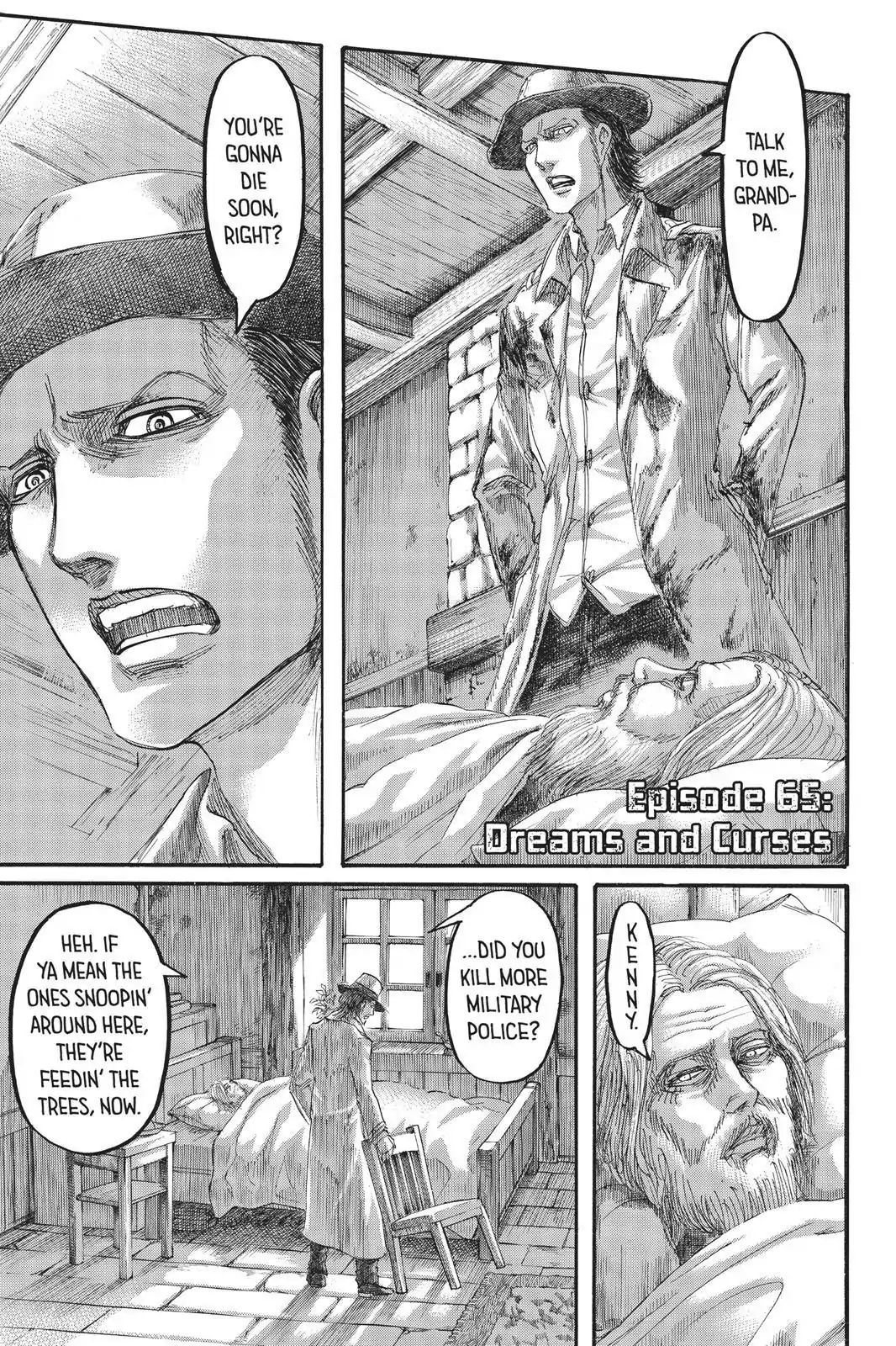 Attack on Titan Chapter 65  Online Free Manga Read Image 1