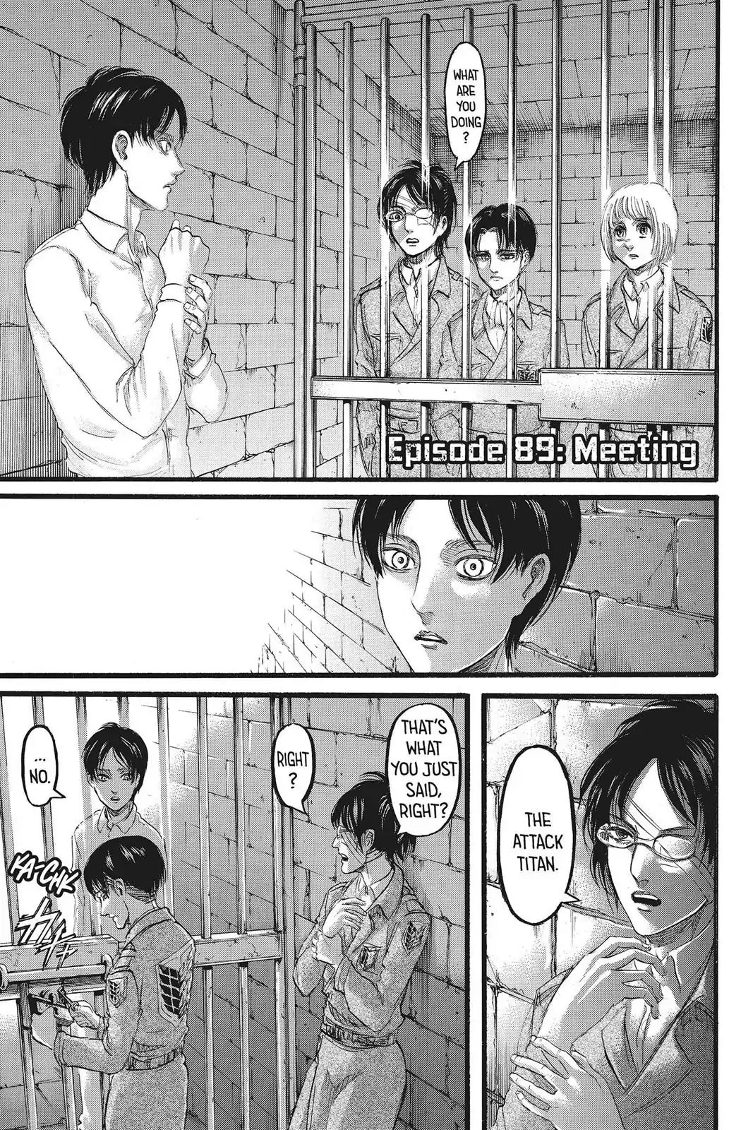 Attack on Titan Chapter 89  Online Free Manga Read Image 1